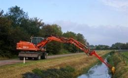 Sloten schonen - Met 15-tons mobiele kraan