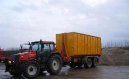 Containercarriers inhoud van 36m3